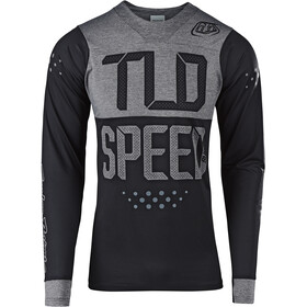 Troy Lee Designs Skyline Maillot à manches longues Homme, speedshop/black/heather gray